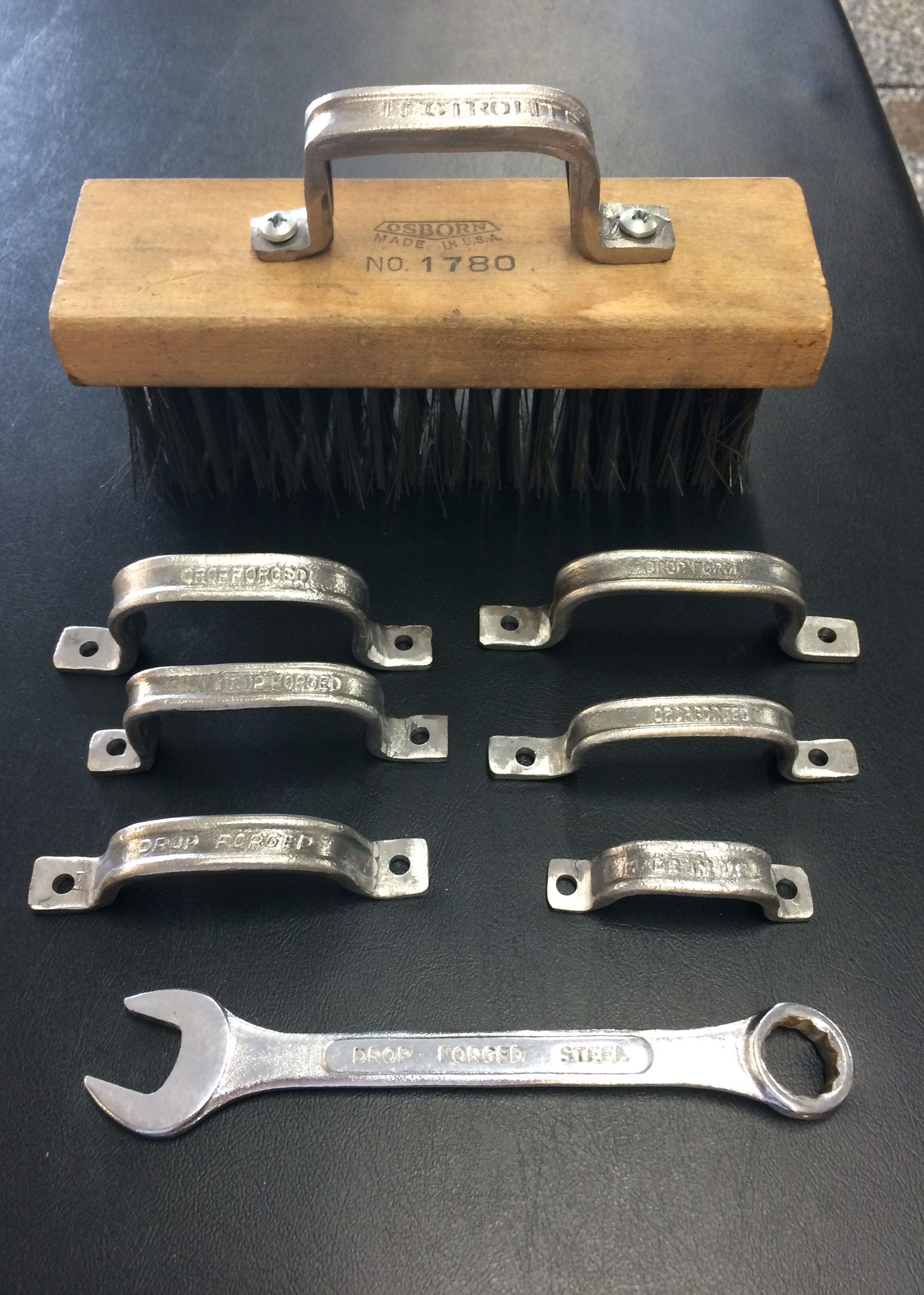 Small Hand Forged Drawer Pulls Handles Made From Old