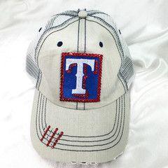 09f0af02daf83 Texas Rangers Trucker