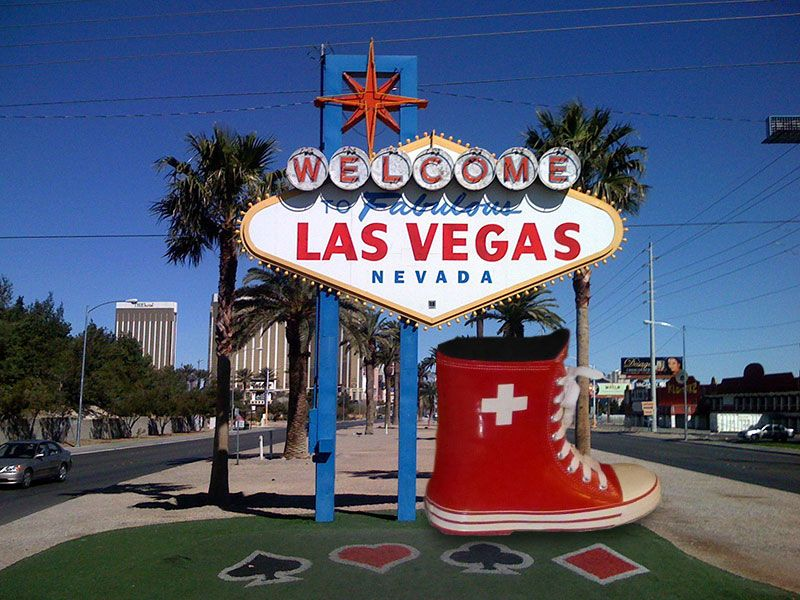 #Elvetik #rainboots went to a trade show to Las Vegas #shoes #footwear #design #fashion #rainboots #wellies #cityboots #rain #boots