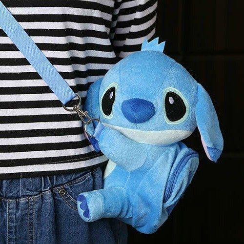 Lilo /& Stitch Plush Crossbody Hand Shoulder Bags Tote Toy Messenger Purse Bag