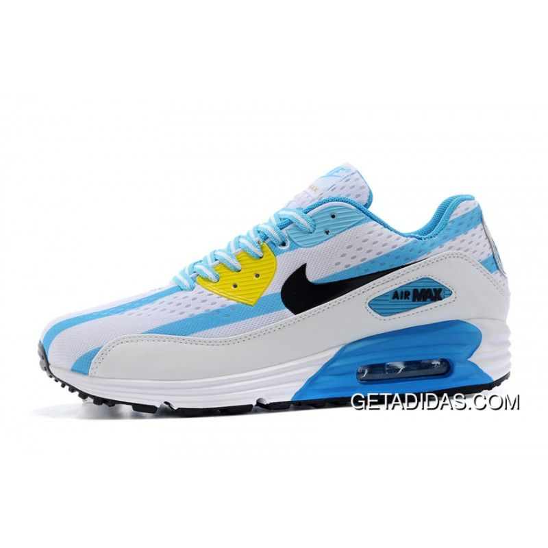 the best attitude 01009 d5e1b Nike Wmns Air Max 90 Argentina Light Blue White TopDeals