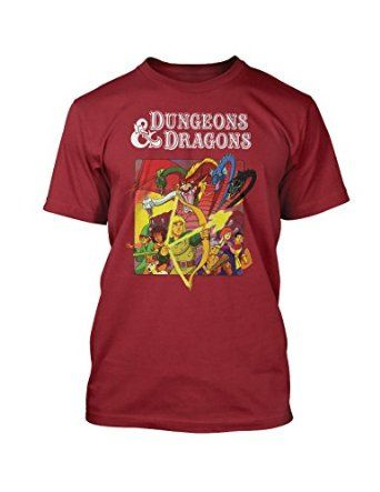 4a3ffd48a2be Dungeons & Dragons 80s Cartoon T-Shirt | T-shirts | Cartoon t shirts ...