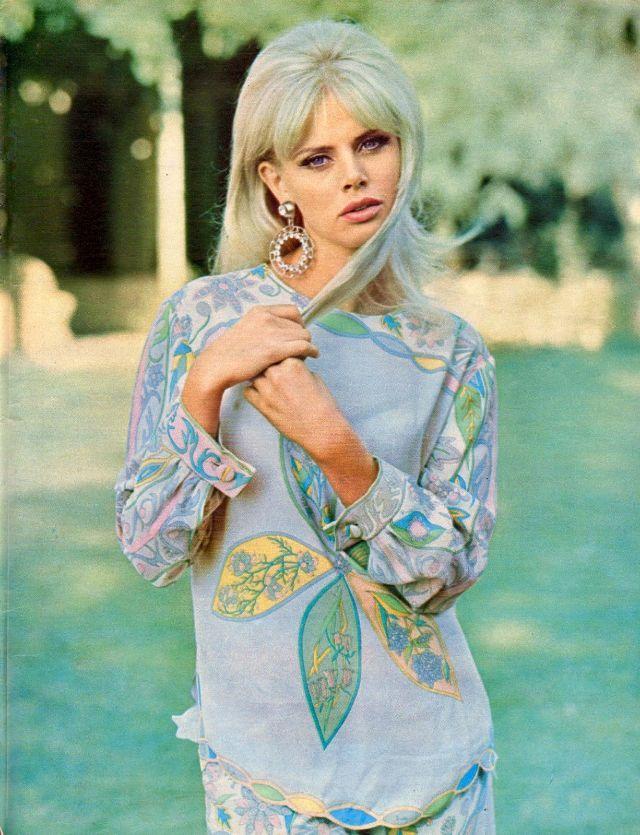Britt Ekland: The 1960s Swedish Beauty Icon