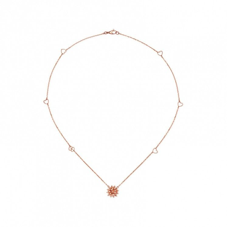 855cde5b9 Gucci Flora 18ct Rose Gold Diamond Pendant Designer Jewellery, Diamond  Pendant, Heart Shapes,