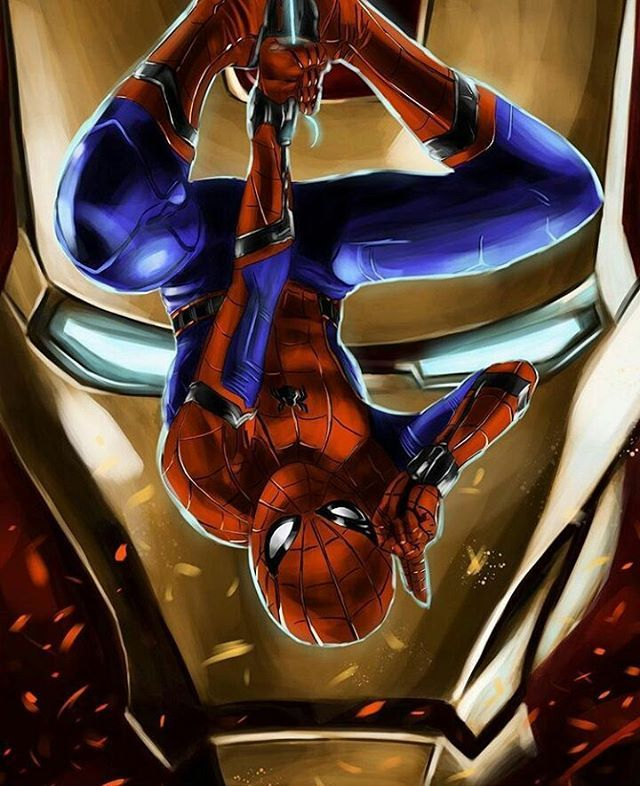 Spider-Man Homecoming art, don't know who drew it but it's ...