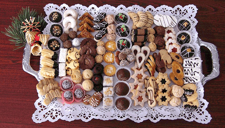 Traditional Czech Christmas Cookies Czechia Christmas Sweets