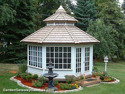 25 Best Ideas About Enclosed Gazebo On Pinterest Garden