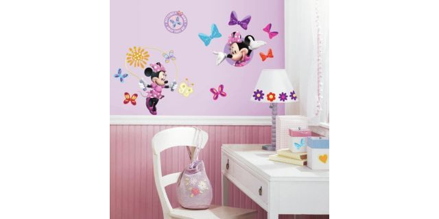 Xlailaaa Minnie Mouse Bedroom Decor Minnie Mouse Bedroom