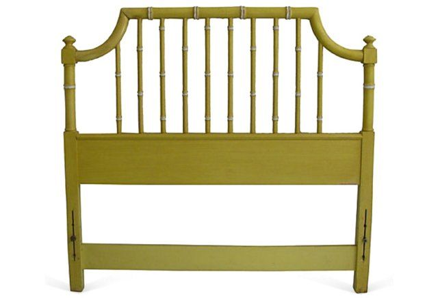 Thomasville Faux-Bamboo Headboard, Twin Faux Bamboo Pinterest