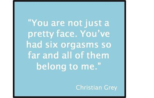 Christian Grey -- You are not just ...  50 Shades of Grey