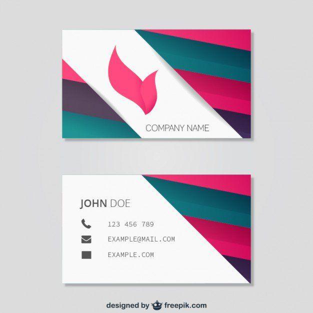 Design Einer Visitenkarte In Photoshop Vorlage Zusammen Mit
