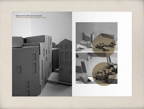 Models | Architecture portfolio by Nicolau Fernandes, via Behance