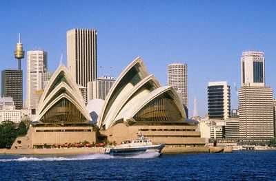 The Most Beautiful Buildings In Los Angeles Sydney Opera House Beach House Plans Australia Pictures