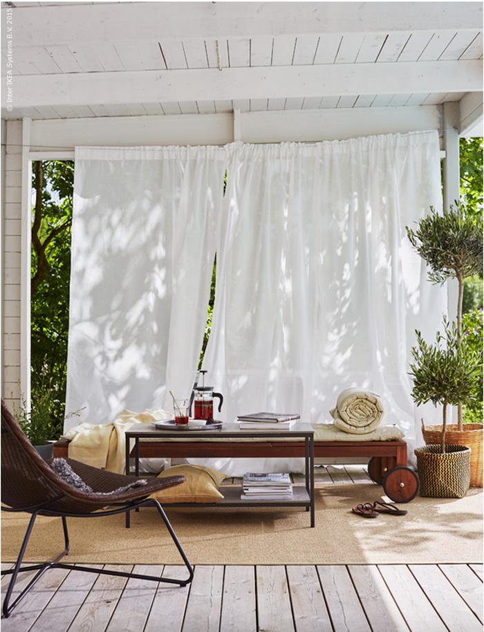 9 New Ikea Hacks Ideas Ikea Patio Ikea Outdoor Interior Design Living Room Warm