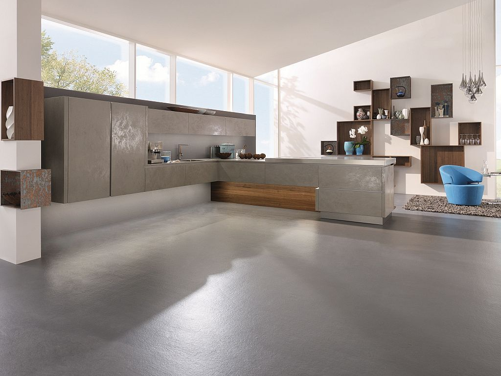 About alno modern kitchens on pinterest modern kitchen cabinets - Alno Cera Ceramic Fronted Door Available In Oxide Avorio Oxide Grigio And Oxide Nero Contemporary Kitchen Cabinetscontemporary