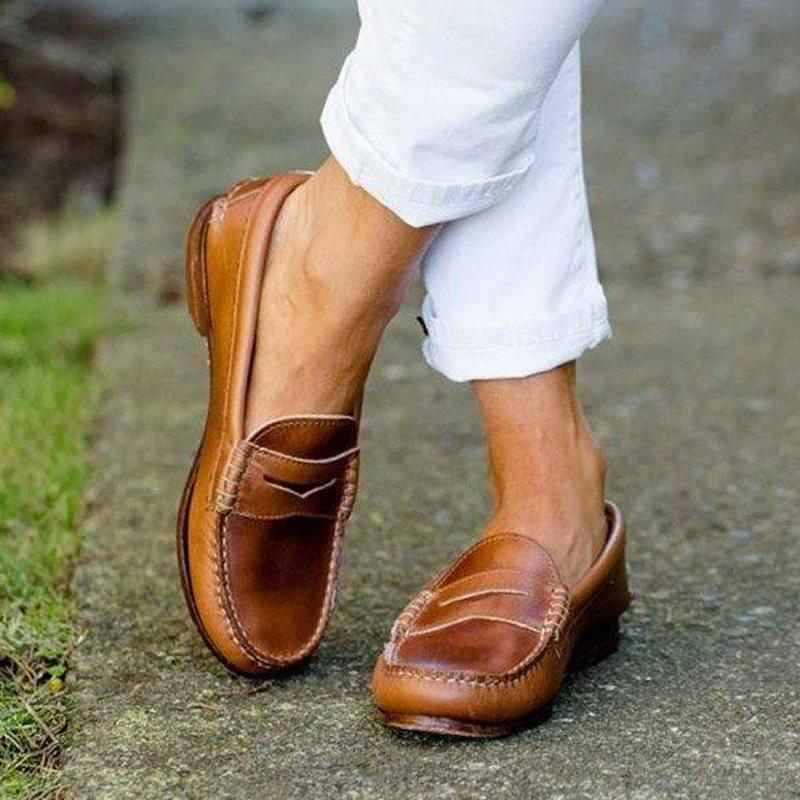 Comfortable Soft Leather Women's