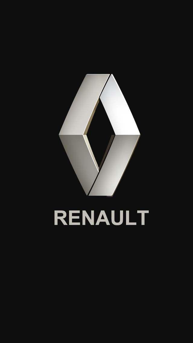 обои логотип renault