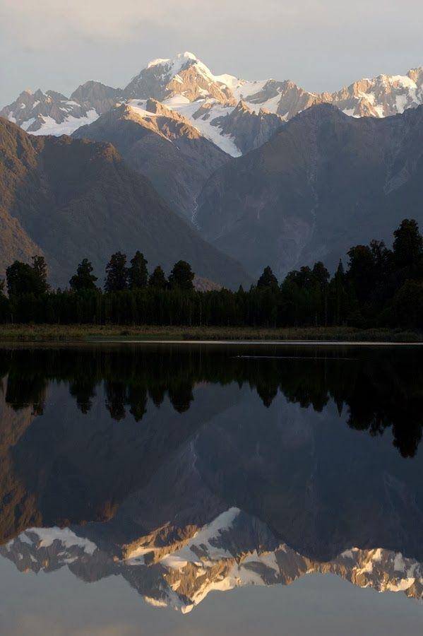 Lake Matheson, New Zealand by Zoltan Vegh Nature Photography #NaturePhotography #Nature #Photography