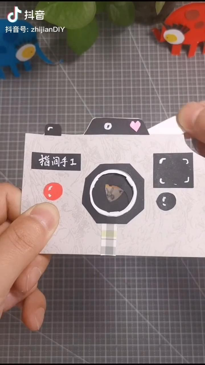 Photo of Homemade Paper Camera For Kids | Paper Craft