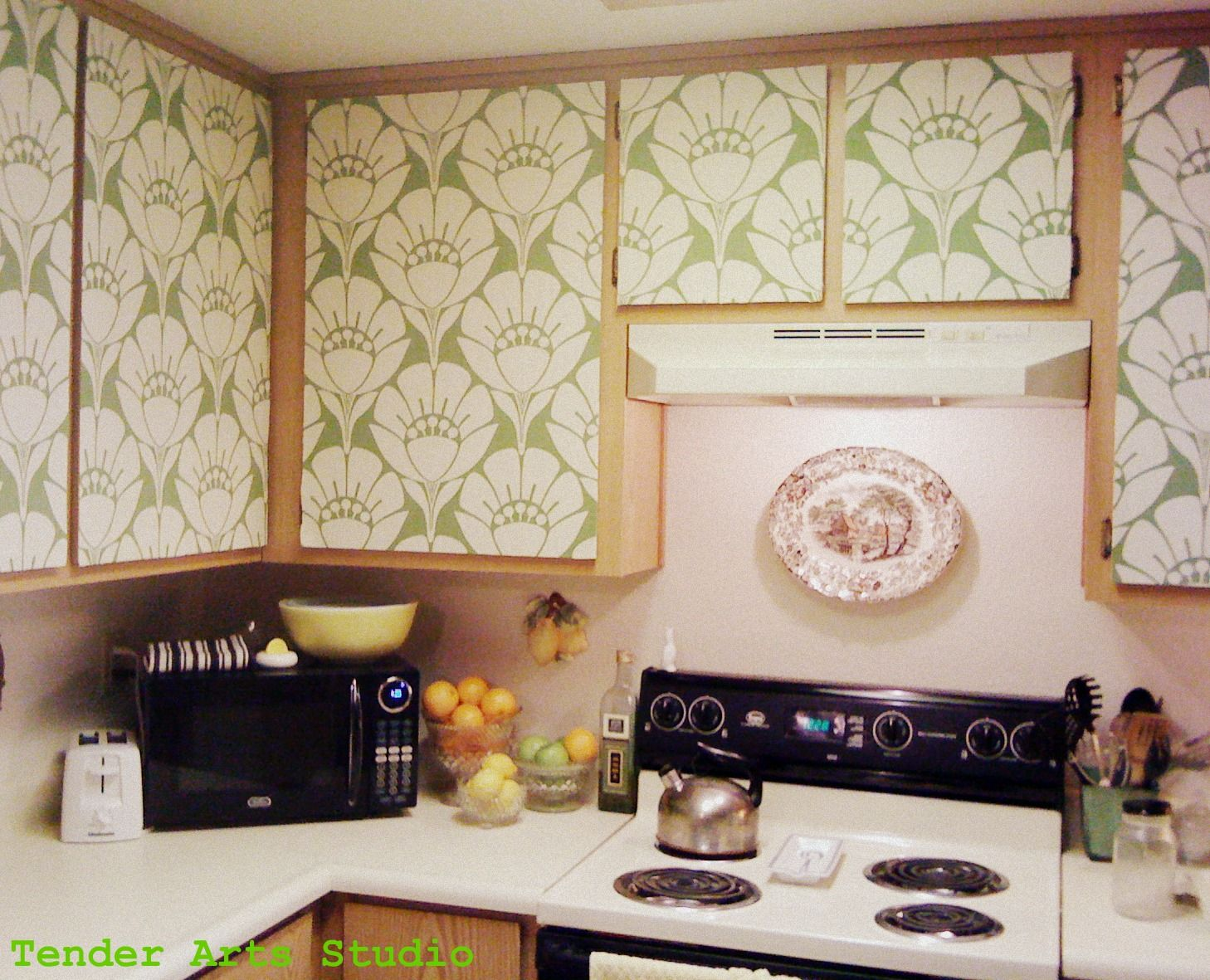For Kitchen Cupboards Starch Covered Fabric For Kitchen Cupboards Easily Removable