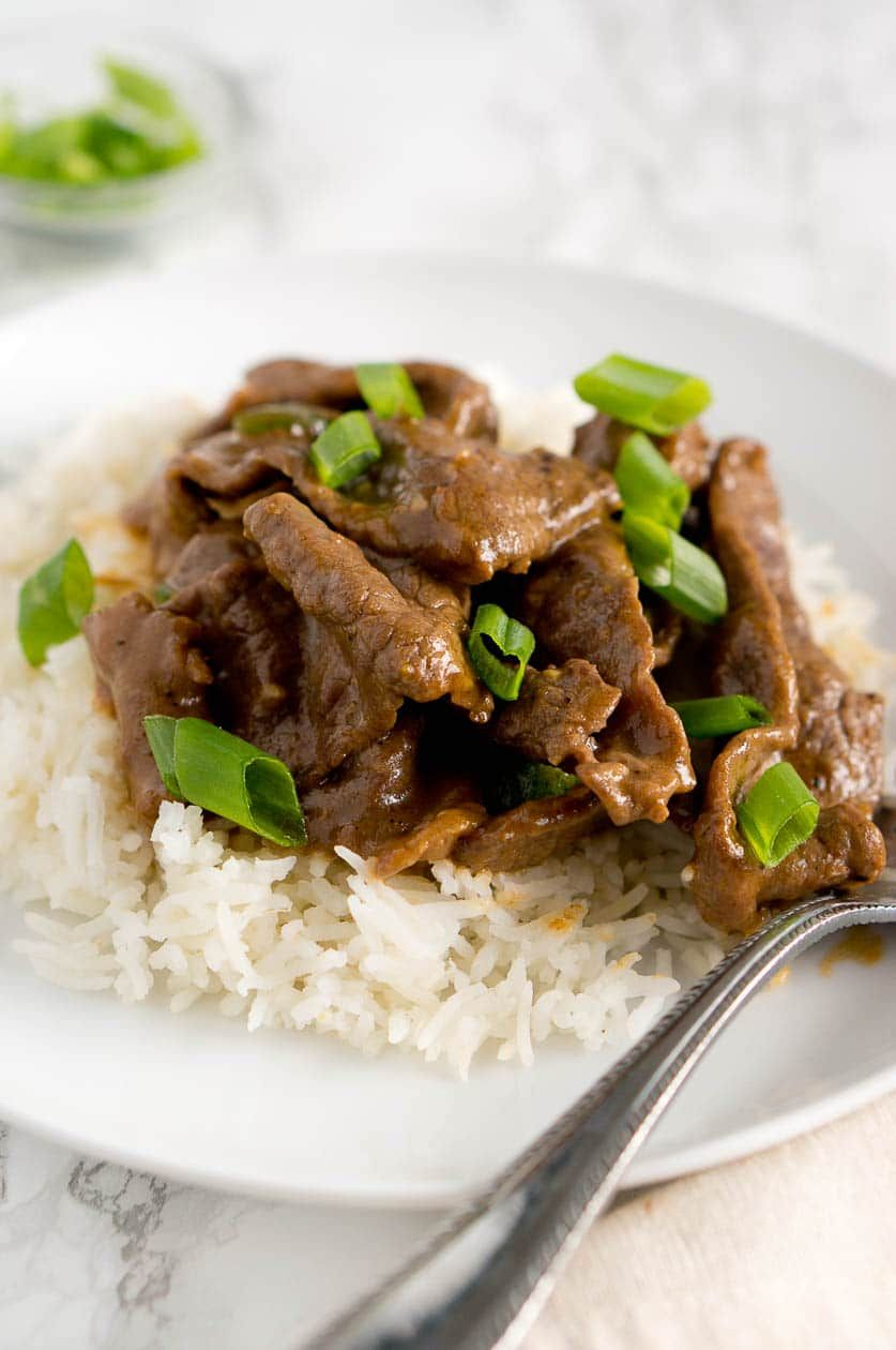 Authentic mongolian beef recipe made healthy its very