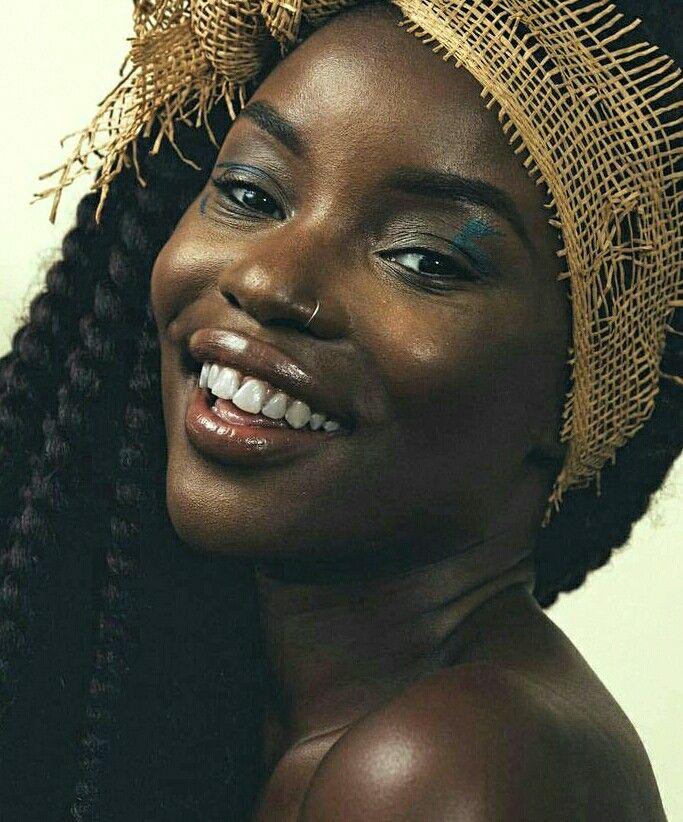 character inspiration - black hair