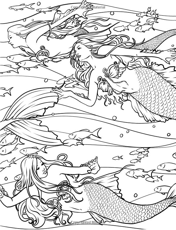 Powerful merman coloring page   Download Free Powerful merman ...   783x600
