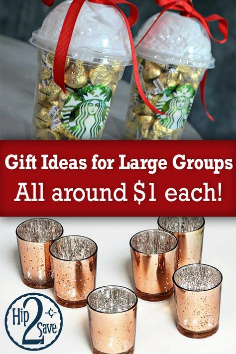 Gift Ideas for Large Groups (With images) | Small ...