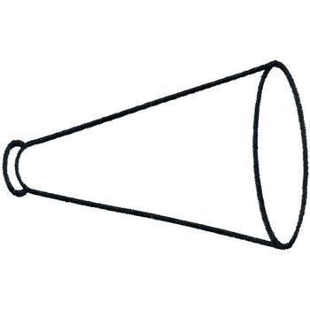 megaphone outline