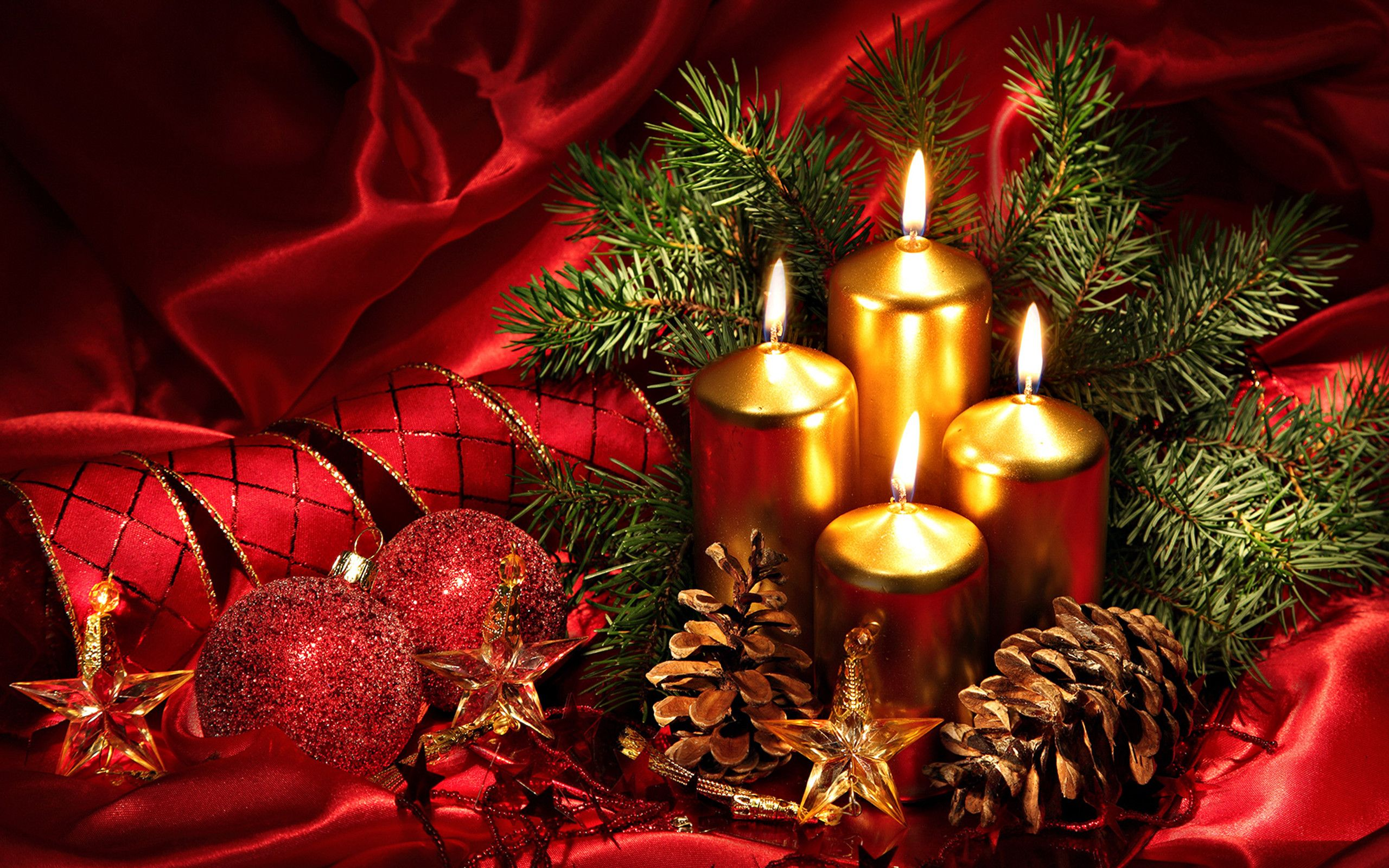 Kerze Weihnachten Gif Res 2560x1600 Christmas Pc Backgrounds Products Weihnachtsdeko
