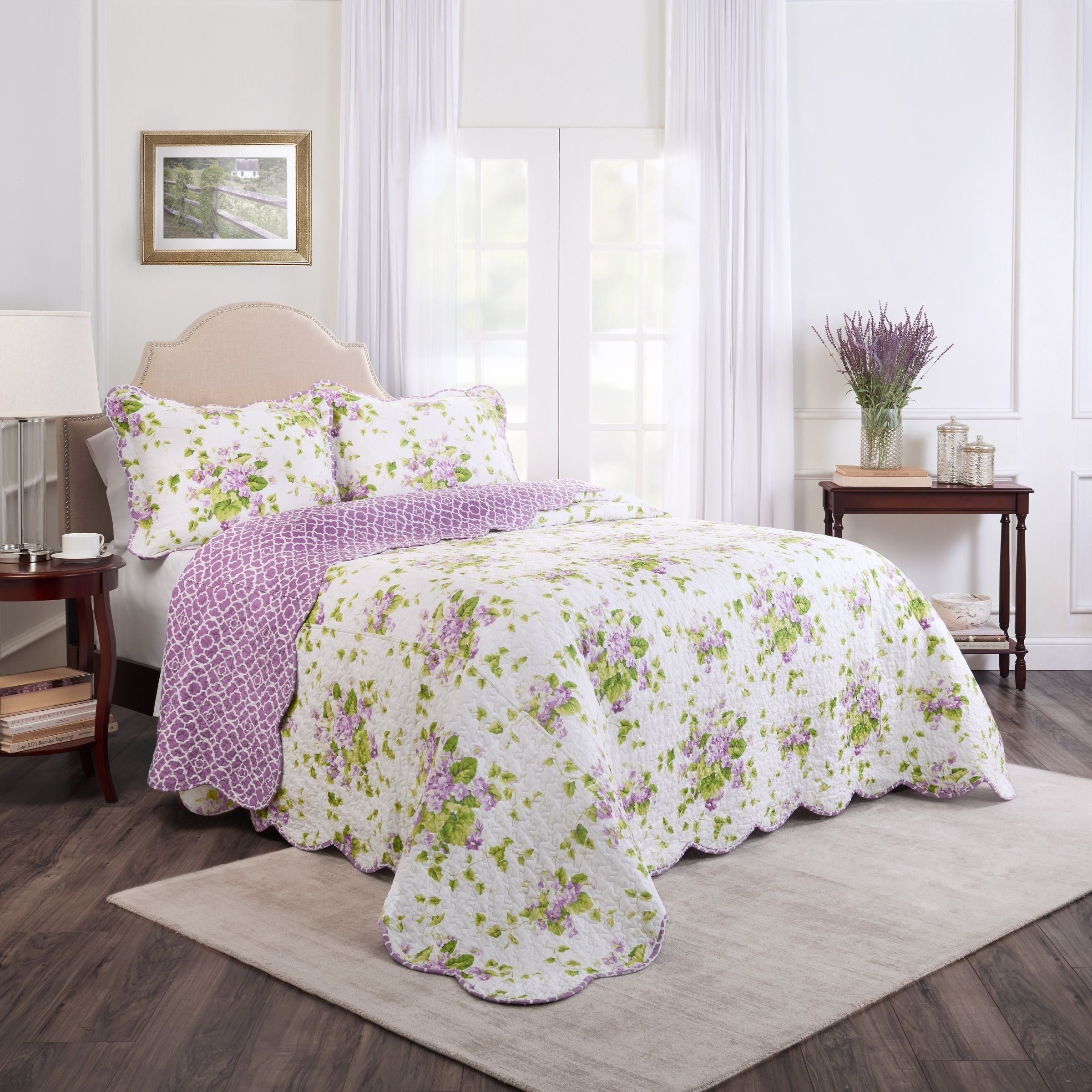 Overstock Com Online Shopping Bedding Furniture Electronics Jewelry Clothing More Bed Spreads Bedspread Set Waverly Bedding