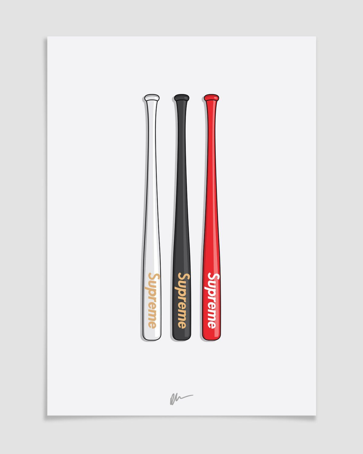 Image of Supreme Slugger Baseball Bats Supreme wallpaper