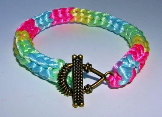 Pulsera i-cord Multicolor