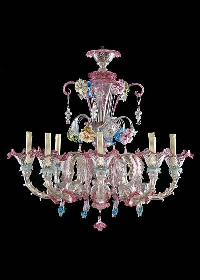 Italian Murano Handblown Glass Chandelier Murano Glass Chandelier Glass Chandelier Hand Blown Glass