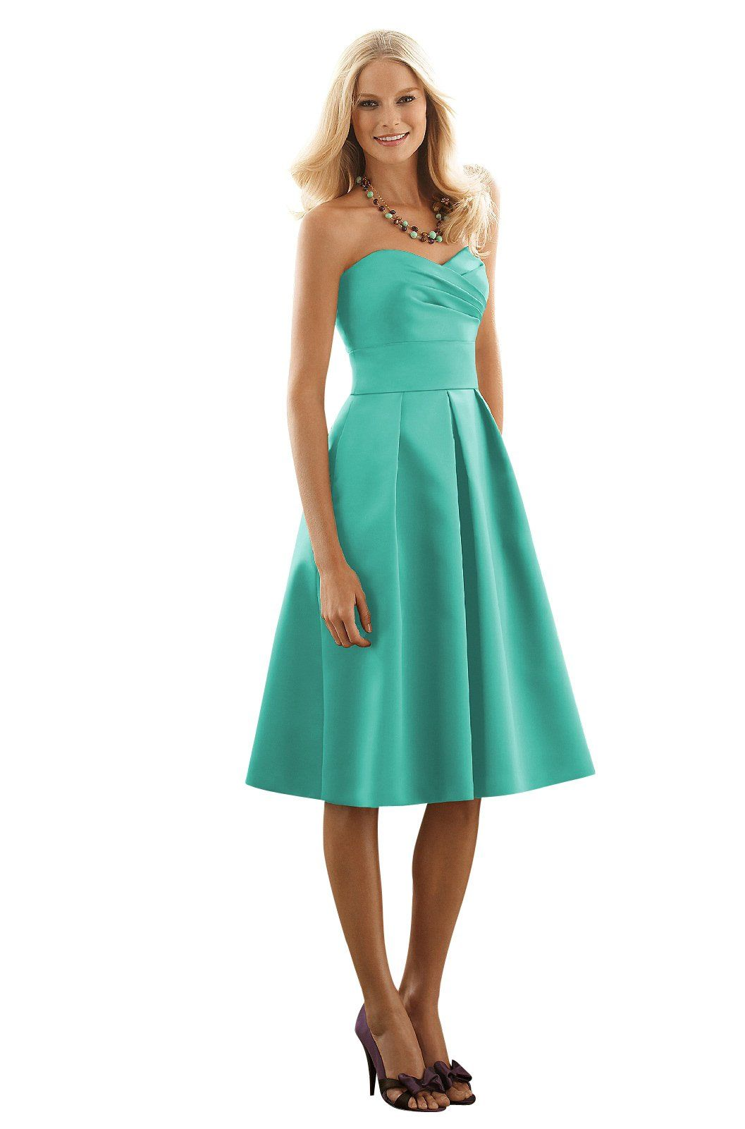 Jill & Kristin Pantone turquoise After Six 6553 Bridesmaid Dress ...
