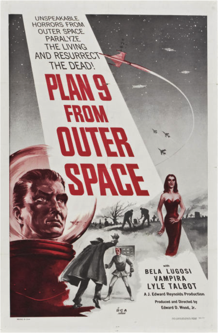Plan 9?  What happen to 1 - 8?