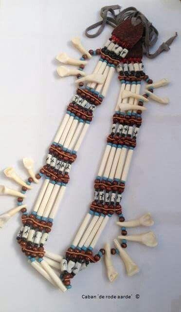 Bizon beenderen collier