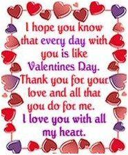 Schön Valentines Sayings