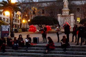 One Bilion Rising a Piazza De Nava