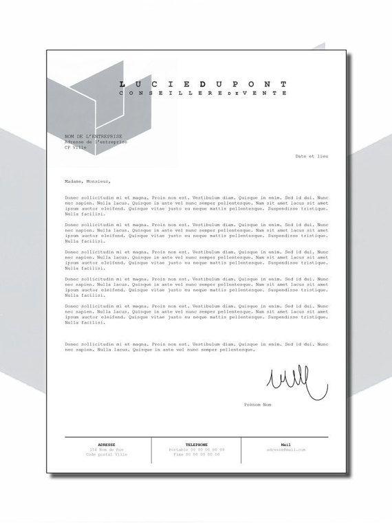 Curriculum Vitae CV Lettre de motivation Design par LOVeANdKLo ...