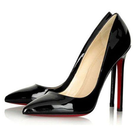 Shoe Concept 2 (Black heel, red sole) | Cruella Deville Shoot ...