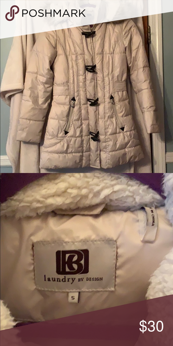 Laundry By Design Cream Puffer Coat Mildly Worn Laundry By Design Jackets Coats Puffers My Posh Picks In 2019 Coat Laundry Design