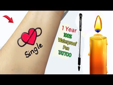 Photo of How To Make Permanent Tattoo At Home With Pen | (Amazing Diy Tattoo) | Pen Tattoo -Time Lapse #7