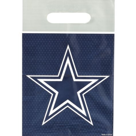 Dallas Cowboys Favor Bags 8ct - Party City Canada | Party Ideas in