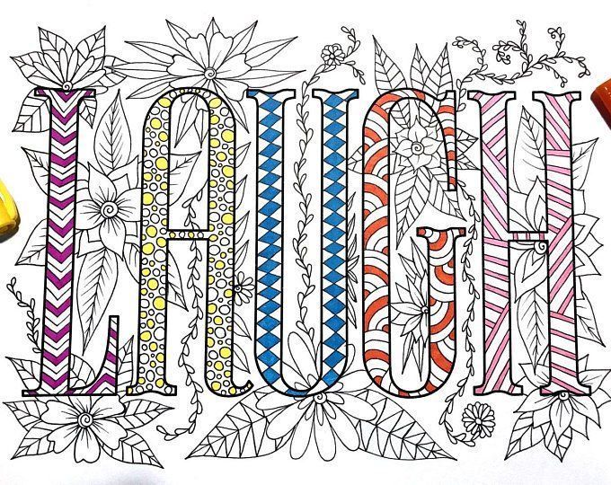 LOVE Heart - PDF Zentangle Coloring Page | Coloring pages ...
