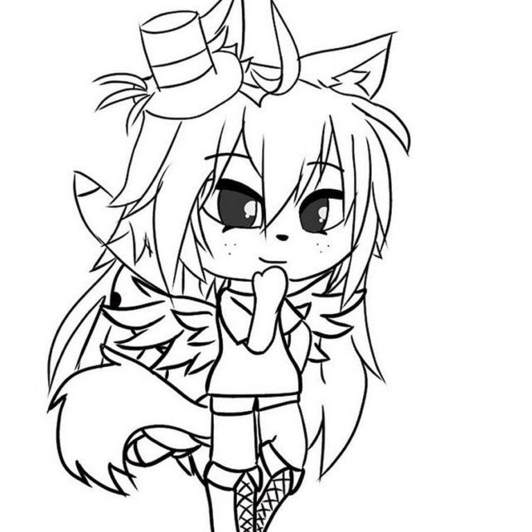 Gacha Life Coloring Pages Unique Collection Print For Free Coloring Pages For Girls Coloring Pages Wallpaper Iphone Cute
