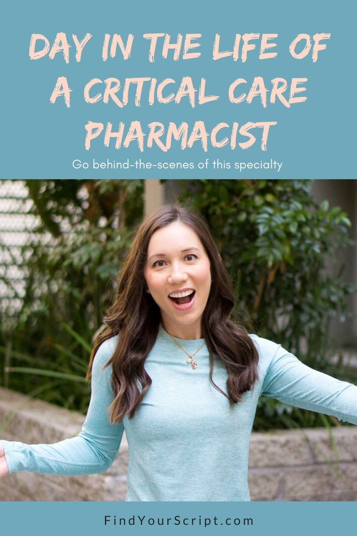 Day in the Life of a Critical Care Pharmacist (With images