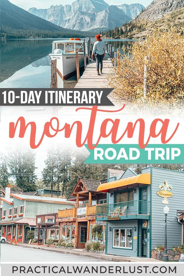 The perfect 10-day Montana road trip itinerary! This Montana road trip includes Missoula, Whitefish, Glacier National Park, and Flathead Lake all in one epic Montana itinerary. Oh, and llamas.