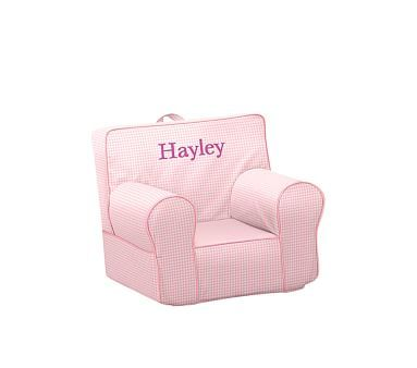 My First Pink Gingham Anywhere Chair 174 Toddler Armchair