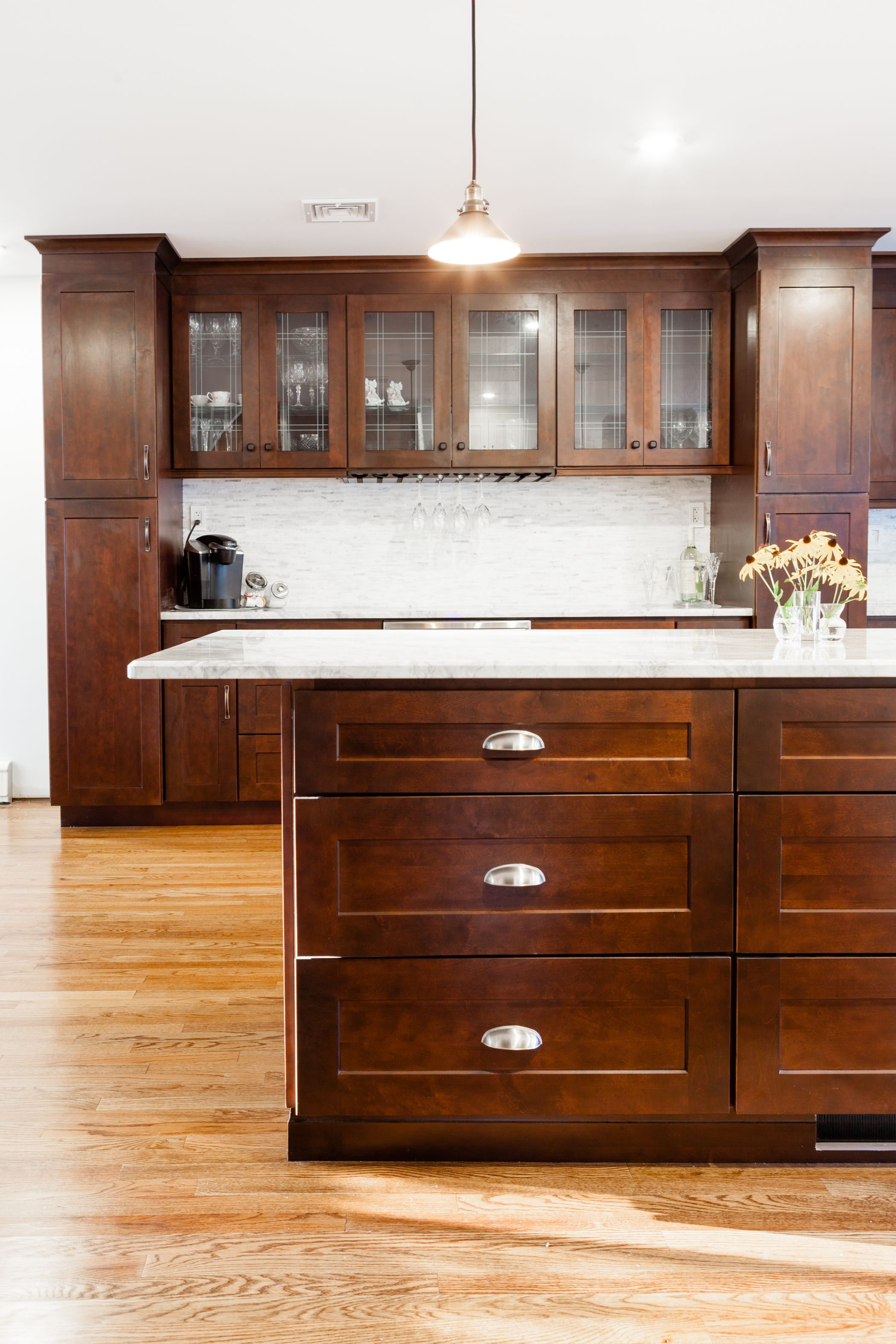 J K Modern Cabinets In Java Coffee Finish Style S1 Modern Kitchen Materials Kitchen Cabinets Decor Old Kitchen Cabinets